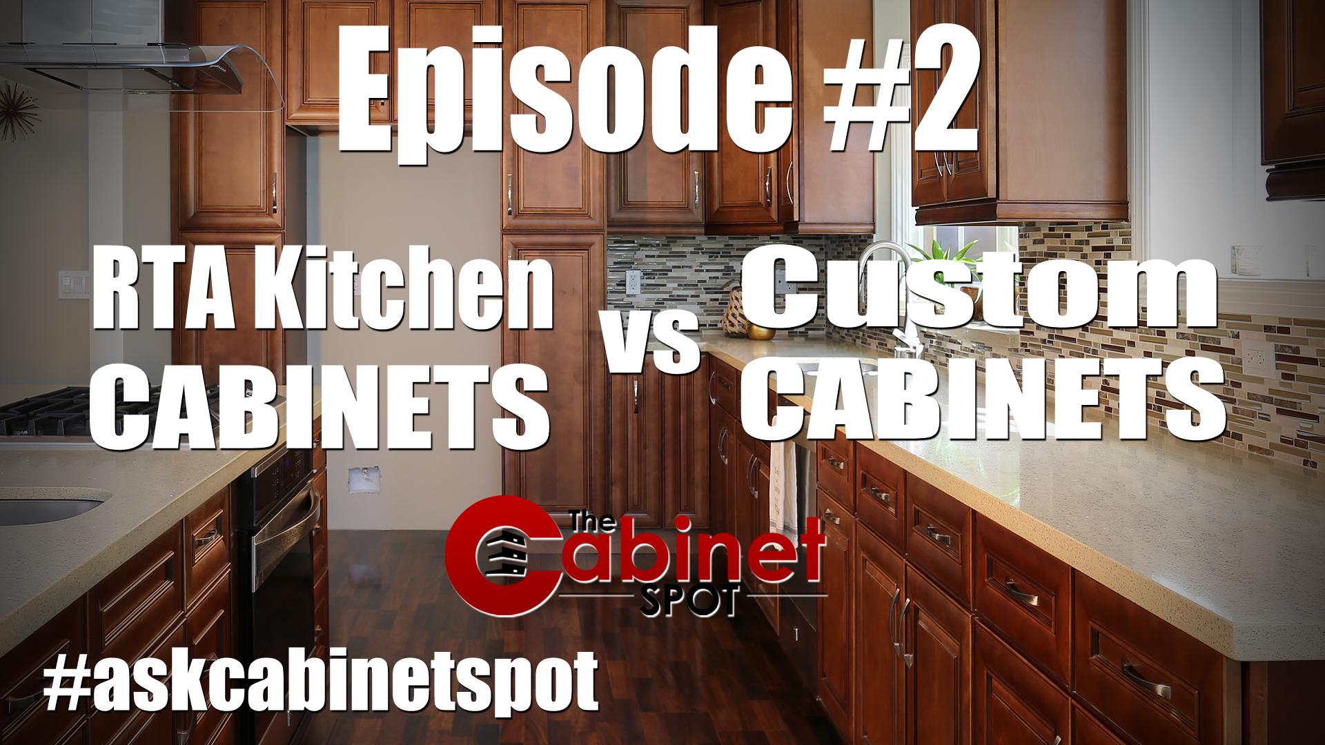 RTA Cabinets vs Custom Cabinets
